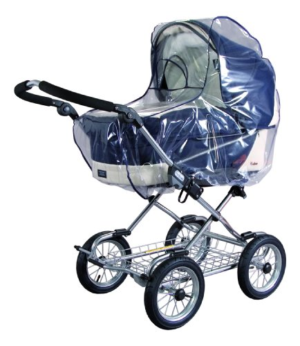 sunnybaby 10020 - Universal Regenverdeck, Regenschutz für EXTRA GROSSE Kinderwagen, Babywanne,...