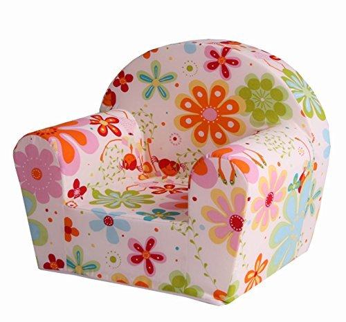 """Sun Garden Kindersessel """"Ludger"""" für Mädchen und Jungen, kuschelig weicher Schaumstoff Baby-Sessel mit..."""