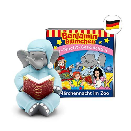 tonies Hörfiguren für Toniebox: Benjamin BLÜMCHEN Hörspiel - Märchennacht im Zoo - Gute Nacht Geschichten...