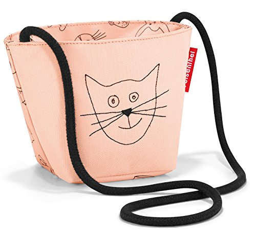 minibag kids 21 x 12 x 10 cm 0,5 Liter cats and dogs rose