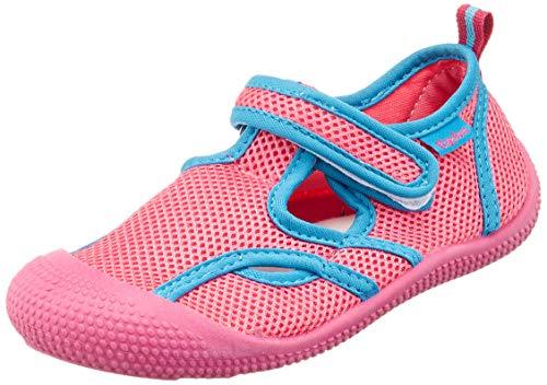 Playshoes Jungen Unisex Kinder UV-Schutz Sandale Aqua Schuhe, Pink (Pink/Türkis 792), 24/25 EU