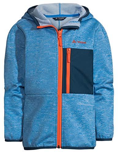 VAUDE Kinder Jacke Kids Kikimora Jacket, Fleecejacke, radiate blue, 110/116, 413919461160