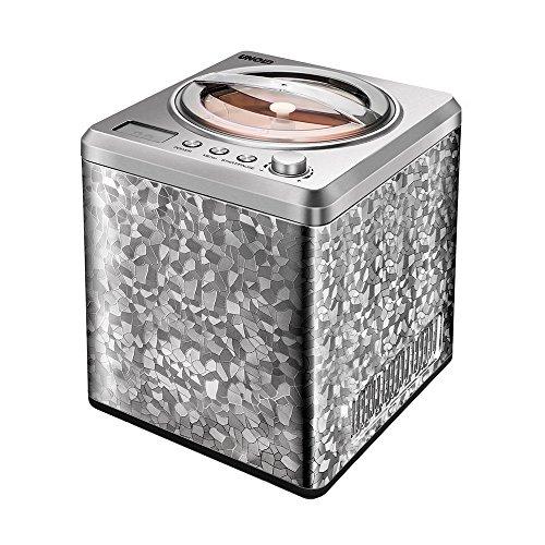 Unold 48870 Eismaschine Profi mit Kompressor, Volumen für 2 L Eiscreme, elegantes Edelstahlgehäuse, robuster...