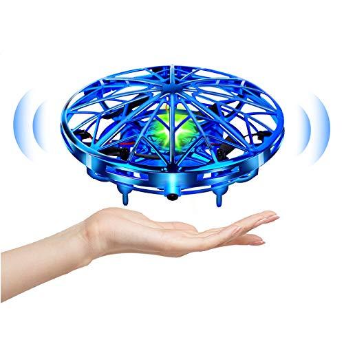 UTTORA UFO Mini Drohne,Drohne Für kinder Kinder Spielzeug Handsensor Quadcopter Infrarot-Induktion Fliegendes...