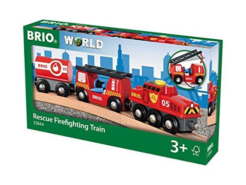 BRIO Bahn 33844 - Feuerwehr-Löschzug