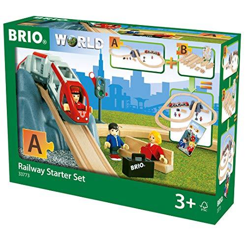 BRIO Bahn 33773 - Eisenbahn Starter Set A
