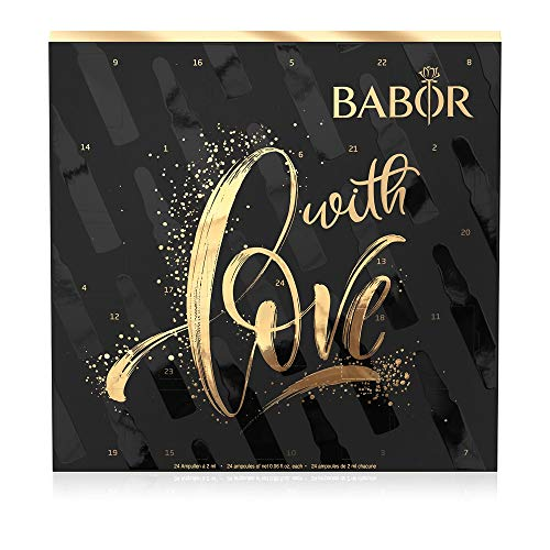 BABOR Adventskalender, 24-Tage-Intensiv-Ampullen-Kur, Feuchtigkeit, Regeneration und Anti-Aging, Beauty-Set,...