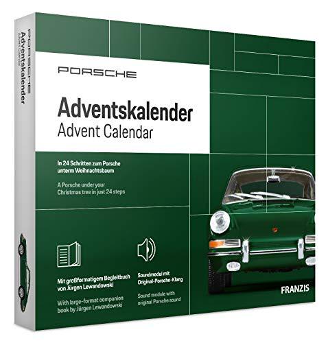 FRANZIS Porsche 911 Adventskalender 2020 | In 24 Schritten zum Porsche unterm Weihnachtsbaum |Neue...