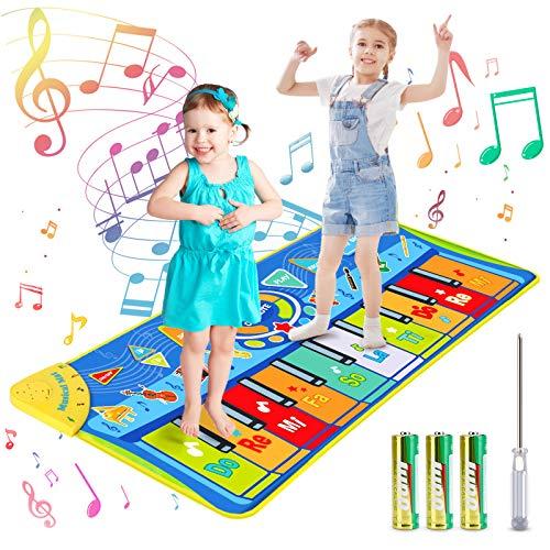 joylink Tanzmatte, Klaviermatte Musikmatte Tanzmatte Kinder Keyboard Matte Tastatur Matte Spielzeug Piano...
