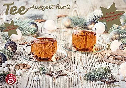Tee-Adventskalender für Zwei 2021 - Teekalender - Adventskalender - Teesorten - Genusskalender -...