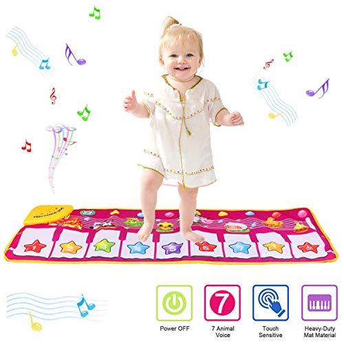 PROACC Klavier Playmat, Kinder Klaviertastatur Musik Playmat Spielzeug, große Größe (39 * 14 Zoll) lustige...