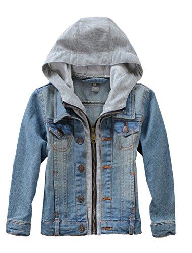 Mallimoda Mädchen Jungen Baby Beiläufig Stilvoll Frühling Herbst Jeans Denim Coats Mantel Kinder Jeansjacke...
