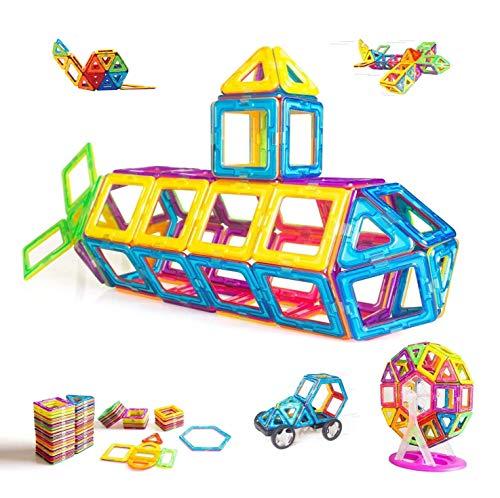 Condis Magnetische Bausteine 95 Teile, Magnetspielzeug Magnete Kinder Magnetbausteine Magnet Spielzeug...