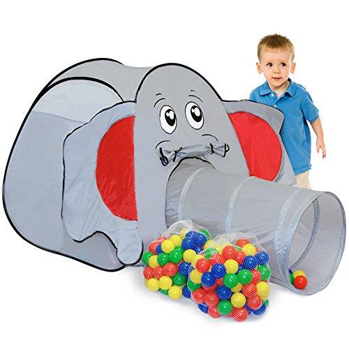 LittleTom Elefanten-Bällebad & Zelt