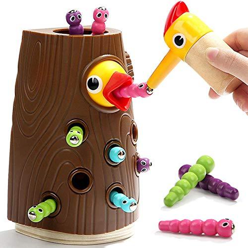 Nene Toys - Lernspielzeug für Jungen und Mädchen 2 3 4 Jahre Alt - Magnetisches Kinderspiel mit Farben zur...