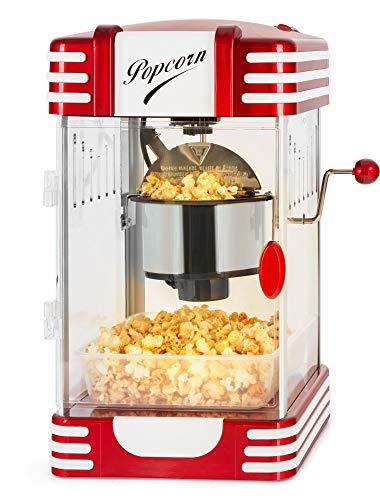 Stagecaptain PCM-300 Popcorn Maschine - Retro-Design - Kurze Aufheizzeit - Mit Dosierlöffeln - Problemlose...