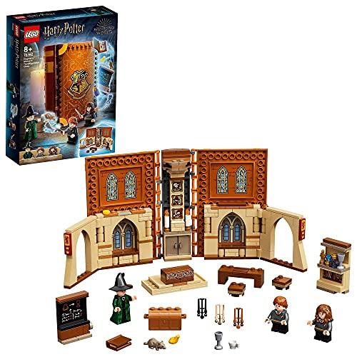LEGO76382HarryPotterHogwartsMoment:VerwandlungsunterrichtSet,SpielzeugkoffermitMinifiguren,...