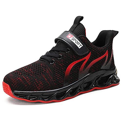 TUDOU Unisex-Kinder Sportschuhe Kinder Schuhe Turnschuhe Outdoor Laufschuhe Atmungsaktiv Leicht Laufschuhe...