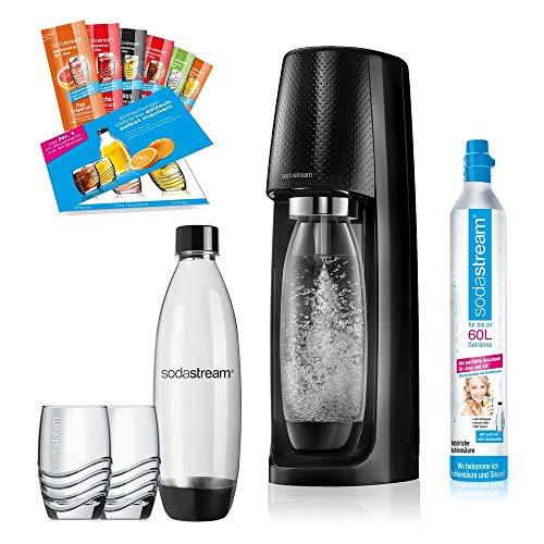 SodaStream Easy PROMOPACK Wassersprudler zum Sprudeln von Leitungswasser, ohne schleppen! mit 1 Zylinder, 2*...
