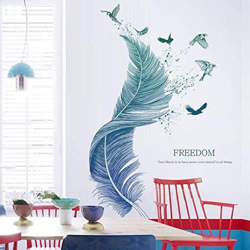 Wandtattoo für Wohnzimmer, Wandsticker als Wanddekoration für Schlafzimmer Kinderzimmer 124cm×72cm Wand...