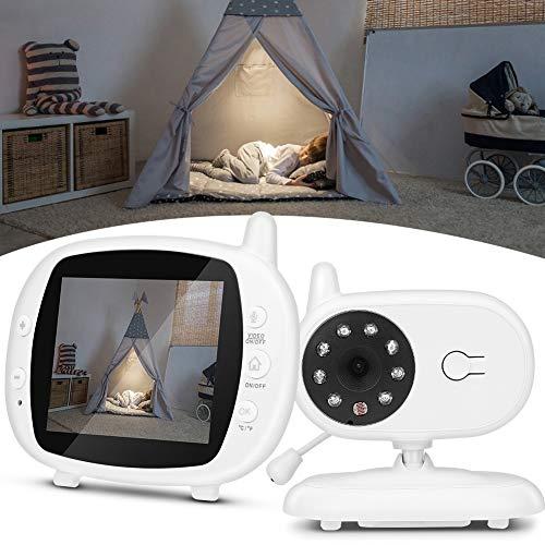 Gatuxe Kamera Babyphone, Nachtsicht 3,5 Zoll Babyphone, LCD-Bildschirm Temperaturanzeige Bewegungserkennung...