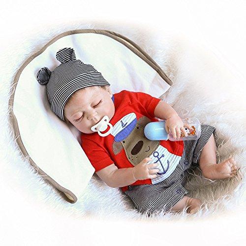 Minidiva® Lebensechte Puppen: Reborn Baby Puppe für Kinder ab 3 Jahre