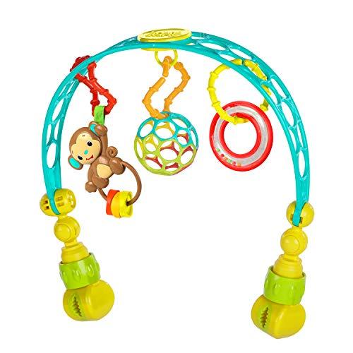 Bright Starts, Oball, Spielbogen für den Kinderwagen aus flexiblem, festem Oball-Material für einfaches...