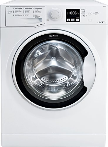 Bauknecht WA Soft 7F4 Waschmaschine Frontlader / A+++ / 1400 UpM / 7 kg / langlebiger Motor / Nachlegefunktion...