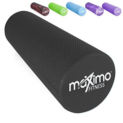 Maximo Fitness Faszienrolle, leichte und extra Lange Schaumstoffrolle, 45 cm x 15 cm (18' x 6')