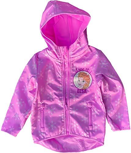 Eiskönigin FROZEN völlig unverfroren Mädchen Jacke Mädchen Softshelljacke 3 4 5 6 7 8 Jahre rosa 98 104...