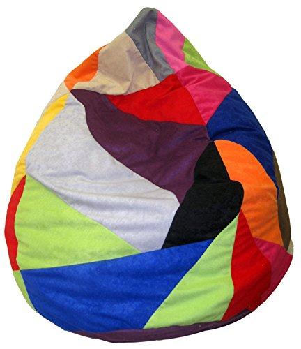 Heunec 670891 Sitzsack, Möbel, Sessel, Multicolored, 120 l