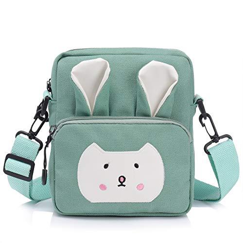Wodasi Umhängetasche Kinder Mädchen Kleine Süße Handtaschen Kinder Prinzessin Mini Taschen Handtasche...