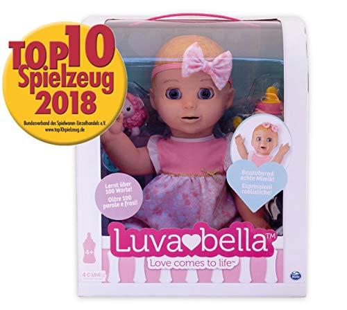 Luvabella 6039298 - Interaktive Puppe mit Sprachfunktion - DEUTSCHE Version