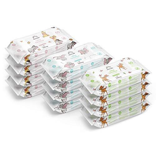 Mama Bear - Disney - Ultra-sanfte Feuchttücher, biologisch abbaubar (12x60 | 720 Stück)