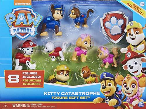 PAW Patrol Chaos-Kätzchen Geschenkset mit 8 Figuren