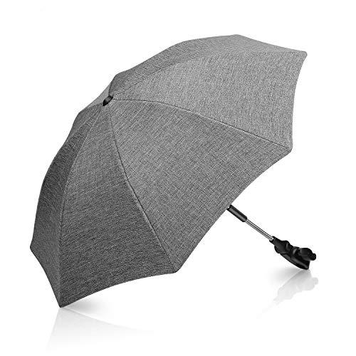 Winload Universal Sonnenschirm kinderwagen, UV Schutz 50+ Sonnenschutz für buggy, kinderwagen regenschirm...