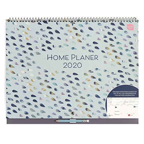 Boxclever Press Home Planer Kalender 2020. Großer Kalender 2020 Wandkalender mit großen Terminfeldern pro...