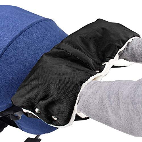 Kinderwagen Handwärmer, Mture Kinderwagen Handschuhe mit Warme Fleece und Baumwolle Innenseite, Wasserdicht...