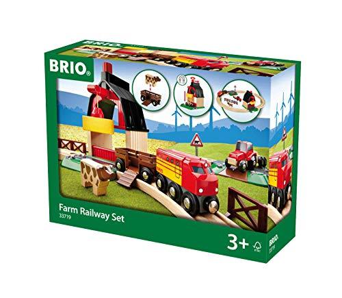 BRIO Bahn 33719 - Bahn Bauernhof Set