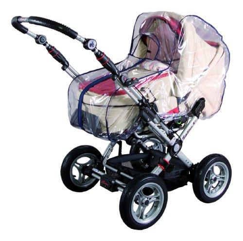 sunnybaby 10595 - Universal Regenverdeck, Regenschutz mit praktischem Reißverschluss für Kinderwagen,...