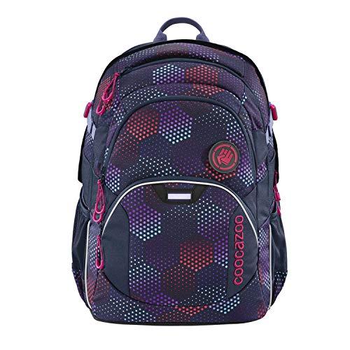 coocazoo Schulrucksack JobJobber Purple Illusion, lila, ergonomischer Tornister, höhenverstellbar mit...