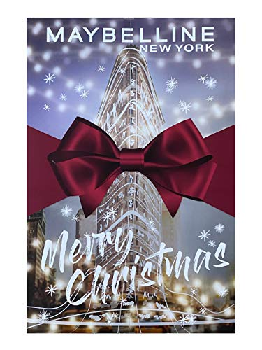 Maybelline New York Adventskalender 2020 Make Up Beauty Kosmetik Kalender NEU