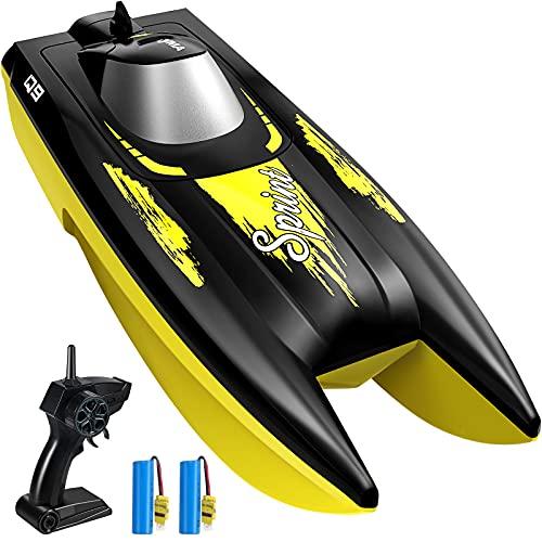 SYMA RC Boote ferngesteuert RC Schiff mit Fernbedienung High Speed Boot 2.4GHz Spielzeug für Erwachsene...