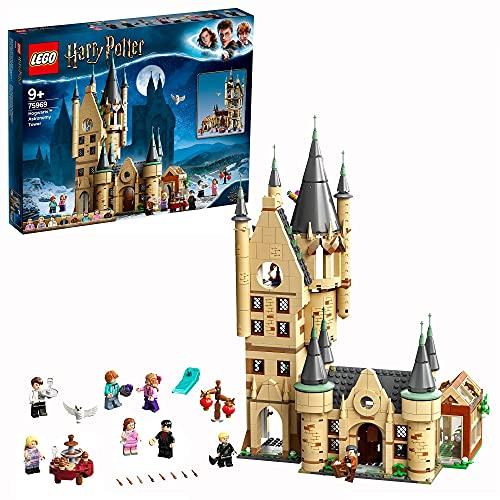 LEGO 75969 Harry Potter Astronomieturm auf Schloss Hogwarts, Spielzeug kompatibel mit der Großen Halle von...