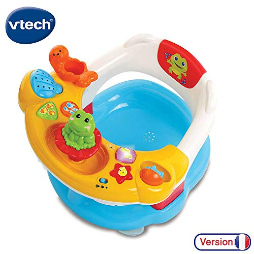 Vtech Super Kindersitz 2-in-1 Baby erster Age, Badespielzeug, 80-515405, Mehrfarbig