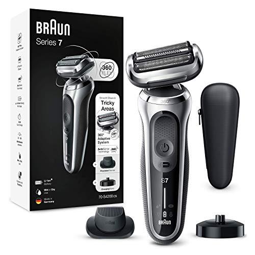 Braun Series 7cs Rasierer Herren, Elektrorasierer mit 360° Anpassung, Präzisionstrimmer, Ladestation,...