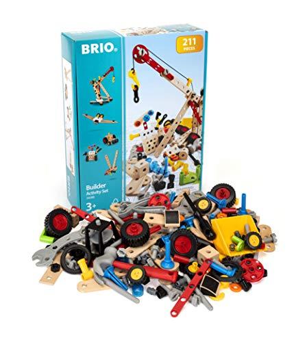 BRIO 34588 - Builder Kindergartenset 211tlg.