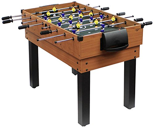 Carromco Unisex Jugend Multifunktionstischfussball Multigame Choice-XT 10-in-1 inklusive Billardkugeln, 2...