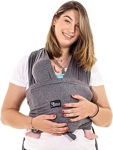 Baby Tragetuch-Leichtes Anziehen (Easy-On) - Unisex - Babytrage Neugeborene - Multi-Use - Bis 10kg -...