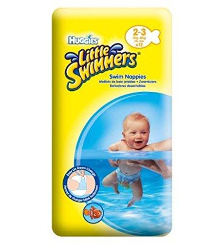 Huggies® Kleinen Schwimmer Größe 2-3 (3Kg-8Kg) - 12 Hosen